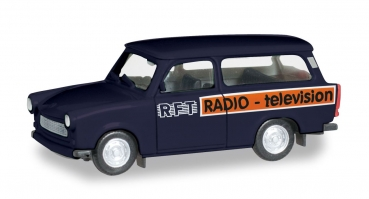 Herpa 095167 - Trabant 601 Universal RFT Television
