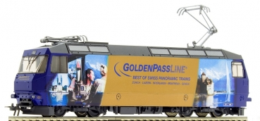 Bemo 1659334 MOB Ge 4/4 8004 'GoldenPass Line' H0 Normalspur 2L-GS