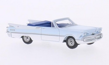 BoS 87061 Dodge Custom Royal Lancer Convertible, hellblau/weiss