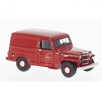BoS 87013 - Jeep Willy Panel Van, rot