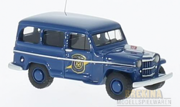 BoS 87012 - Jeep Willy Station Wagon, blau