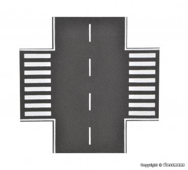 Vollmer 48265 Straßenpatte Asphalt 45° Kurve Radius 15 cm