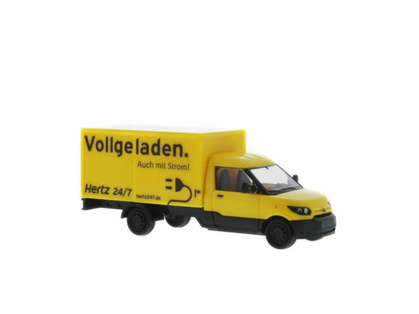 modellbahn scheierlein rietze 33003 streetscooter work l hertz autovermietung. Black Bedroom Furniture Sets. Home Design Ideas
